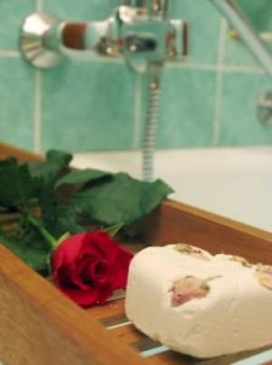 baño romántico